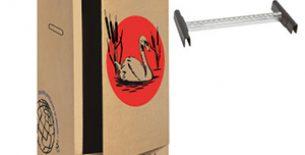 Carton penderie (11,90 € TTC)