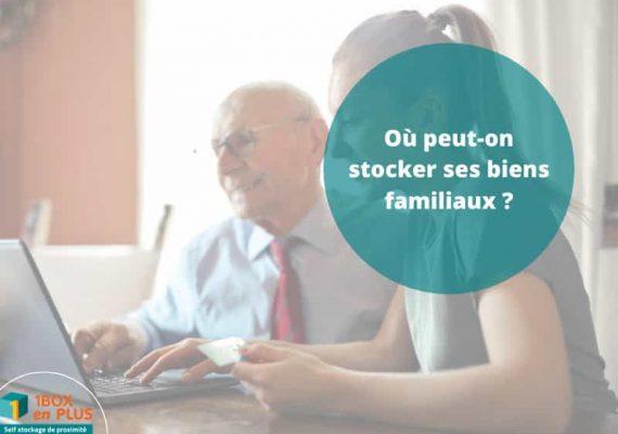 Où peut-on stocker ses biens familiaux à Nantes ?