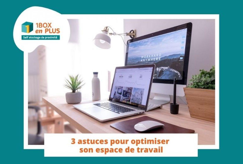 Télétravail : 3 astuces pour optimiser son espace de travail avec un garde meuble Nantes